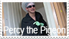 Percy the Pigeon Stamp by fothermuck