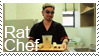 Rat Chef Stamp by fothermuck