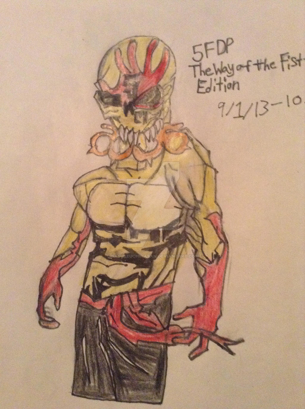 Five Finger Death Punch The Way Of The Fist By Sasukeuchihasan On