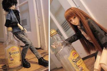 Stealing The Tequila by AliceAlicaArisu