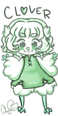 Clover precious birb
