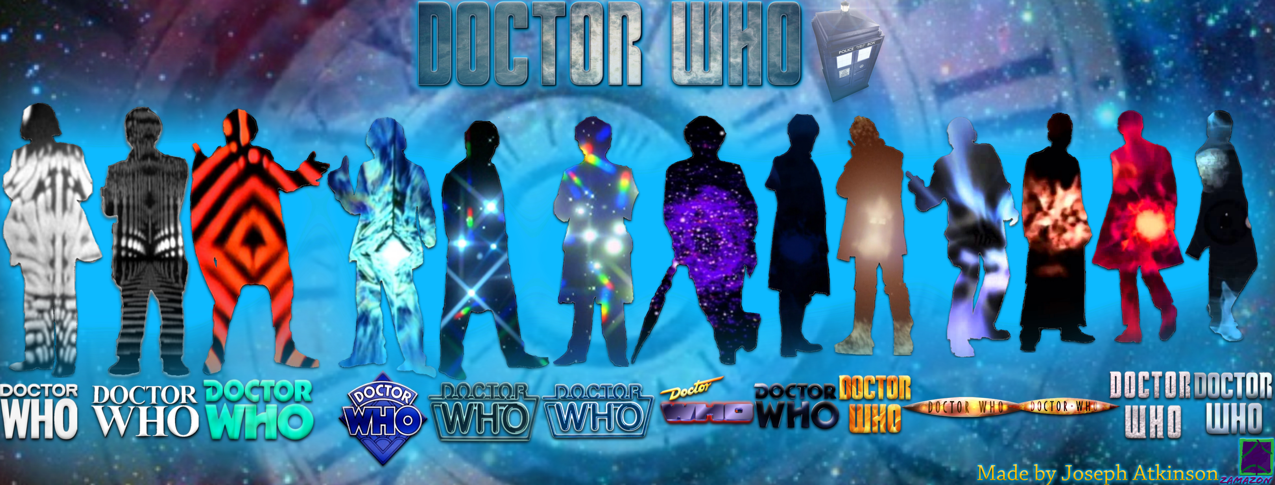 All 13 Doctors And Themes By Vvjosephvv On Deviantart