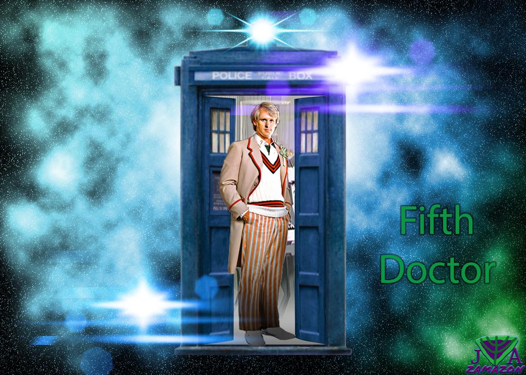 Fifth Doctor by vvjosephvv