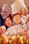 Fan art Ratatouille 2009..... by sai2009