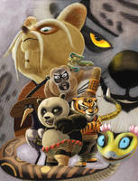 Fan art Kungfu Panda 2009..... by sai2009