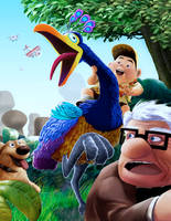 Fan art UP from Pixar by sai2009