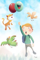 Children's book illustr no.011... by sai2009