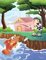 Children's book illustr no.017... by sai2009