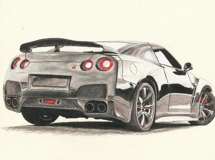 Nissan Skyline Sketch Nissan Skyline Gtr Finished by
