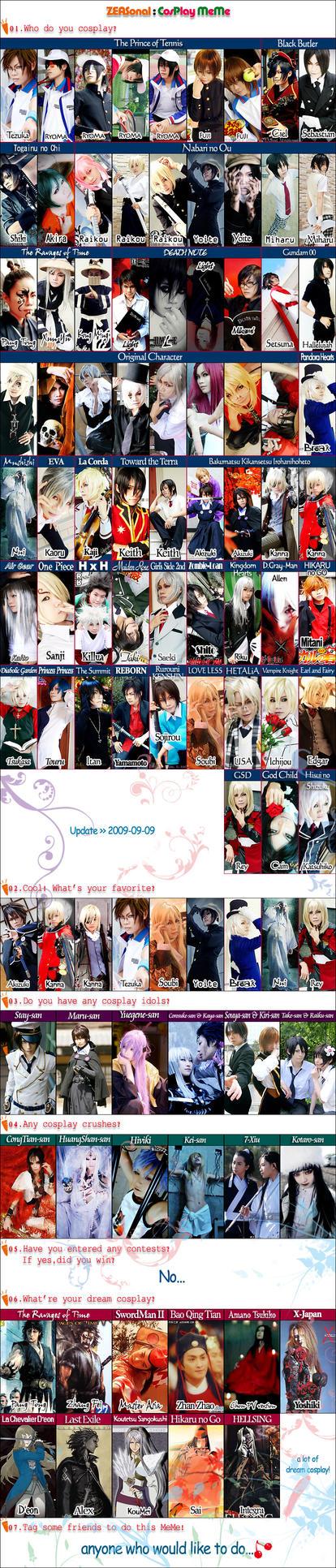 ZEASonal : CosPlay MeMe 2009 by Zeasonal