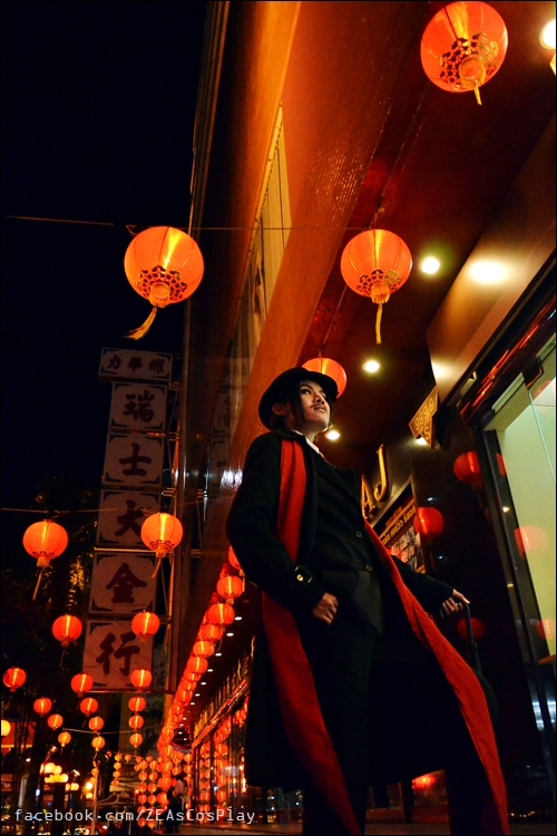 OriCos : under Red Lantern by Zeasonal