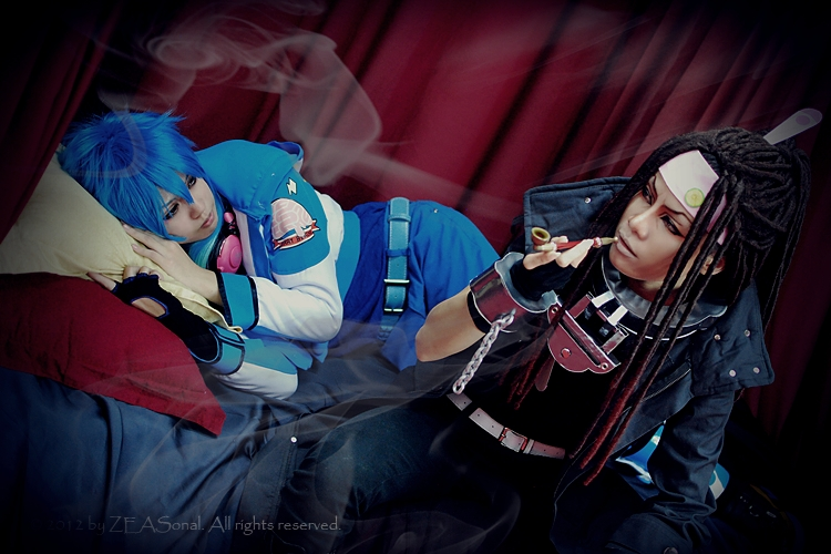 Cosplay : Mink x Aoba -DMMD- by Zeasonal