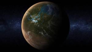 A terraformed Mars