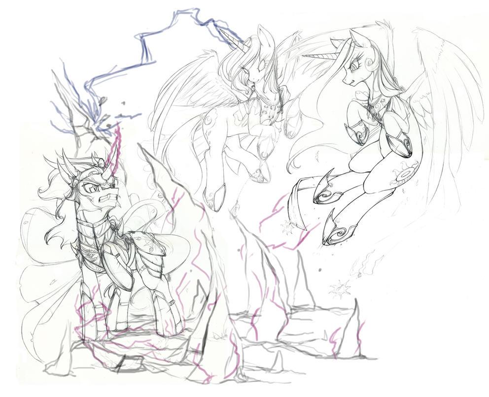 Be Prepared! (sketch) (UPDATED!) by Longinius-II