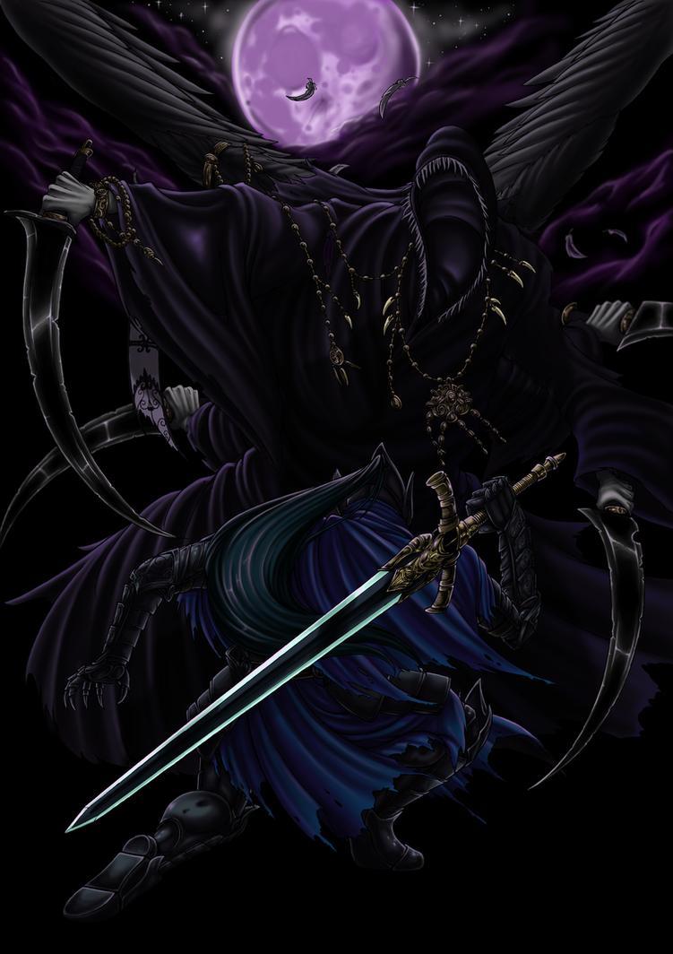 Commission - Nightmare Duel by Longinius-II