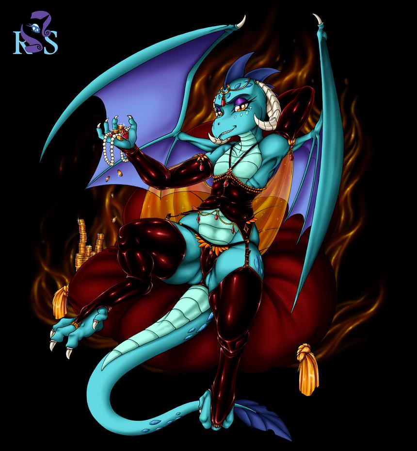 Rarity's Secret - Dragonlord by Longinius-II