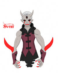Sven, the Demon - Full Color by Mifune013