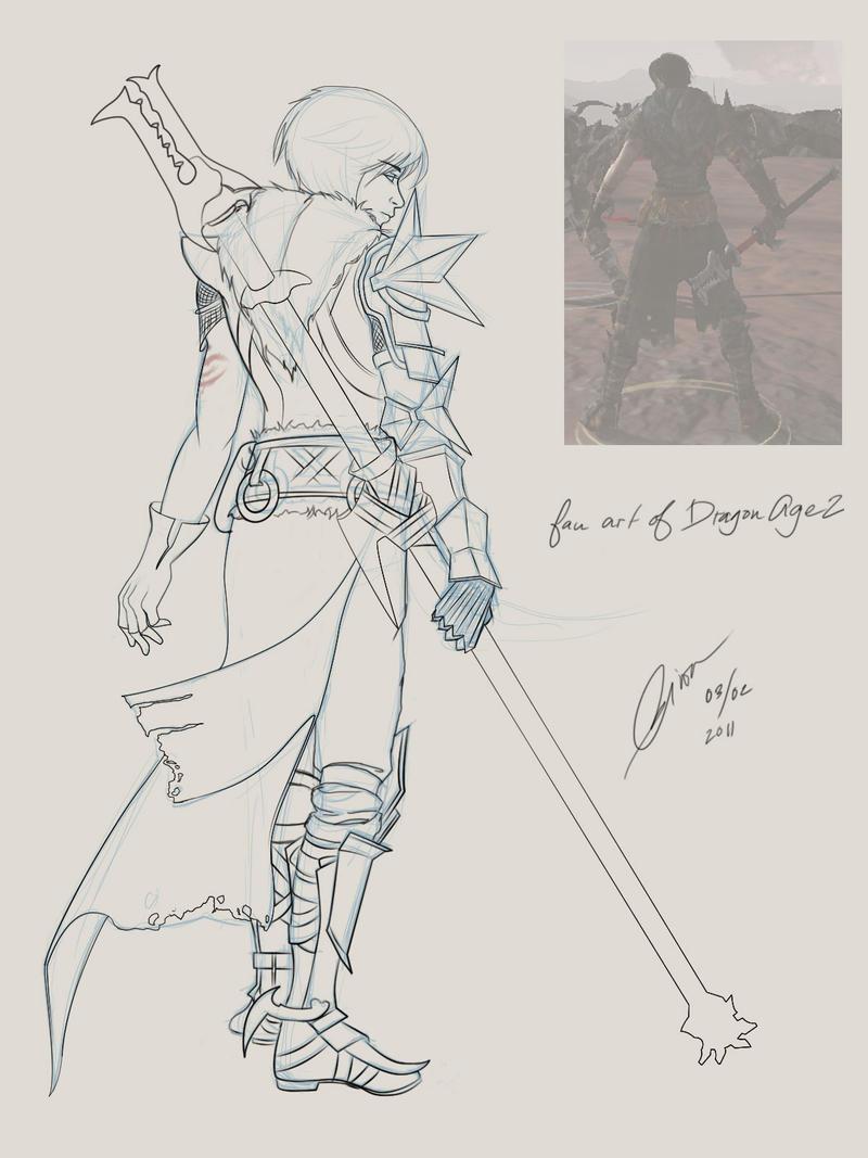 Female Hawke - Dragon Age II