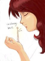 Imaginary Friend by madcoffee