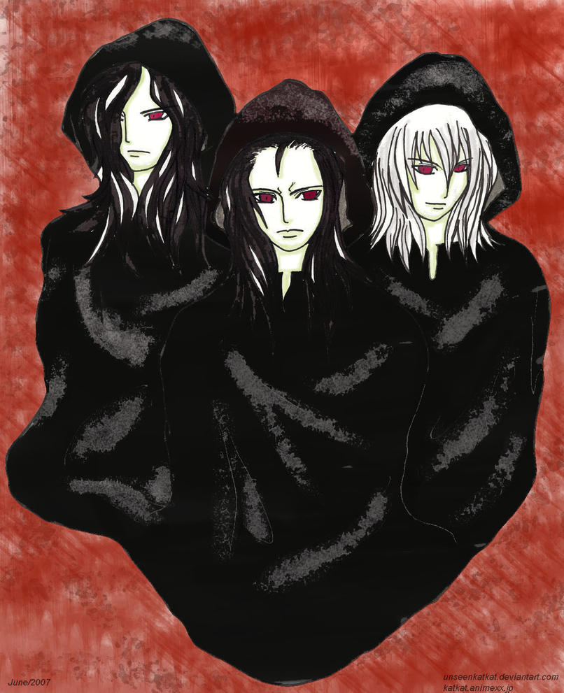 The Volturi Clan by UnseenKatKat