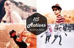 FREE DOWNLOAD : 115 PRO PHOTOSHOP ACTIONS BUNDLE