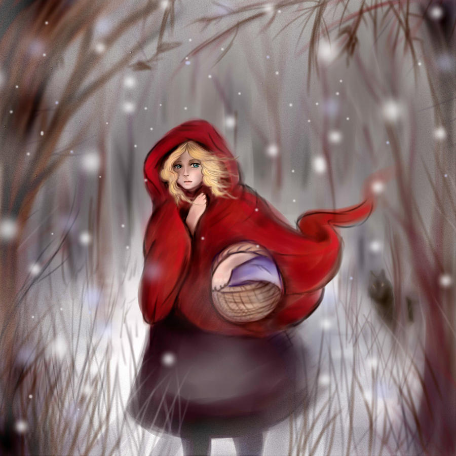 Red Riding Hood by Klodia13