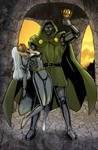 Storm Knocked Out by Dr. Doom