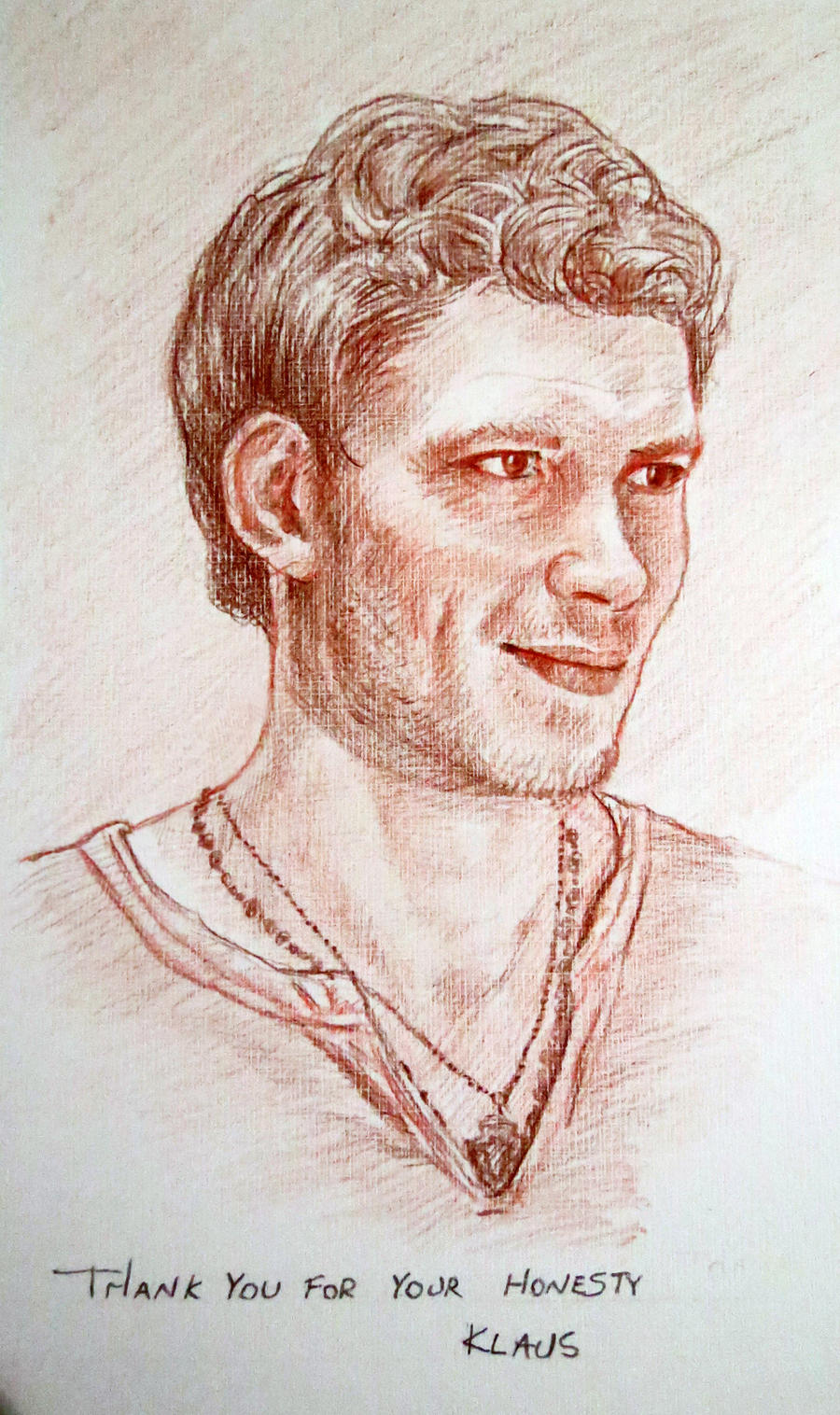 Niklaus Mikaelson - The Vampire Diaries by chartreuxxx