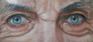 Eyes, soft pastel. by chartreuxxx