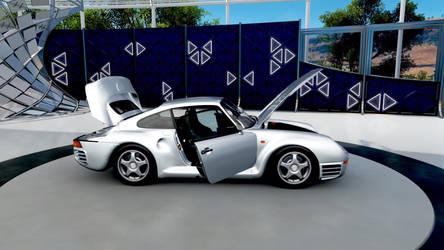 Porsche 959 on Forza Horizon 3.  by Lunaroyalguard
