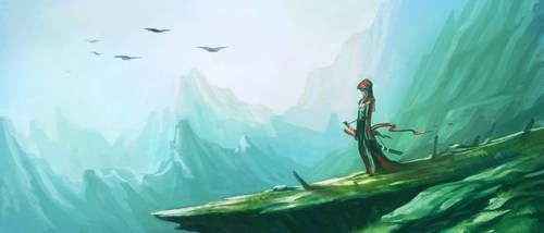 swordman by thanathornyantaporn