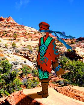 Nomad in the Desert