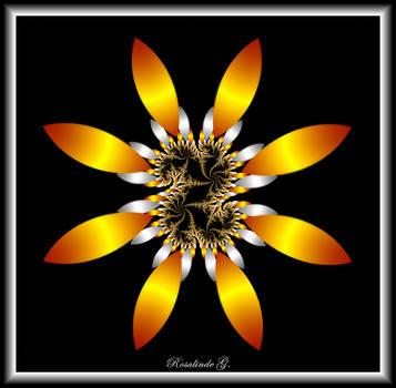 Cosmic Sunflower by fractal1