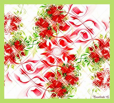 Geranium Garden by fractal1