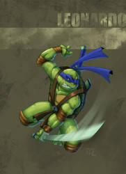 TMNT - Leonardo by Ocarian