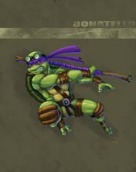 TMNT - Donatello by Ocarian
