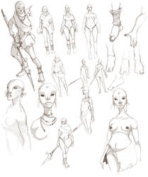 Character Concept by Ocarian