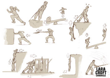 Lara Croft Chronicle : Gameplay Concept by Ocarian