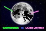 Lightsaber vs Laser Lipstick