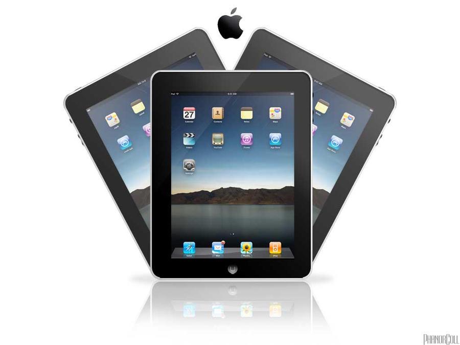 iPad by phanorcoll