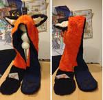 'Fox' Animal ear hood by Abbi-Normal
