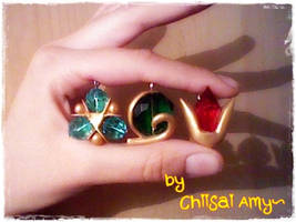 Spiritual Stones of TLoZ Ocarina of Time by ChiisaiAmy