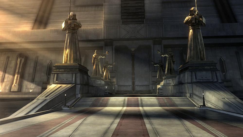 Jedi Temple Entrance by VlPER777