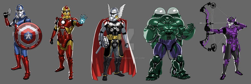 Avenger series by kieuvan9x