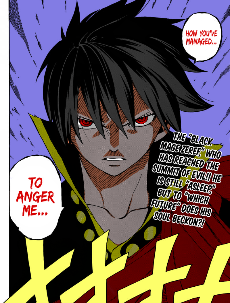Fairy Tail Zeref Angry Zeref s anger by scarlet-sabreZeref Angry