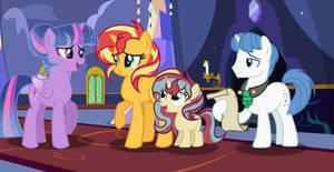 MLP[NextGen] Welcome to Equestria, Sunset!