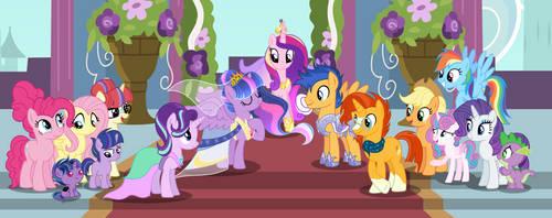 MLP[Next Gen] Twilight's and Flash's wedding