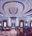 Interior of banquet hall 2 by ideaday