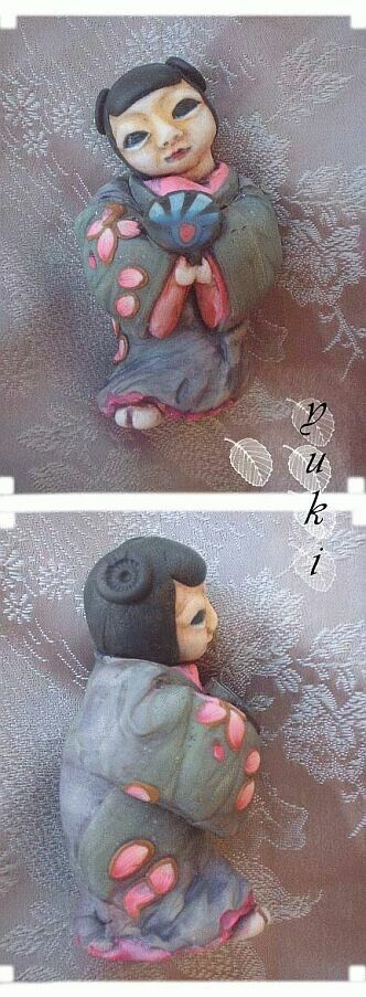 Yuki netsuke by Sleetwealth
