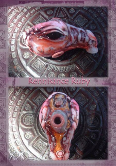 Rennisance ruby Dragon by Sleetwealth